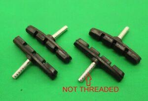 Pair New Various Size Cantilever V Bmx BRAKE PADS BLOCKS SHOES Threadless Post