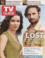 Josh Holloway Evangeline Lilly ~ Lost ~ Tv Guide Magazine ~ May 8, 2006 ~ E-4-2