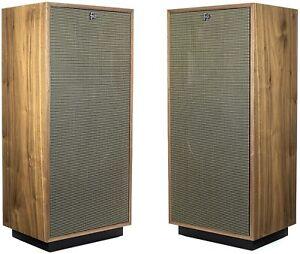 Klipsch Forte IV Loudspeakers -American Walnut (Pair)  **Open Box**