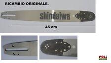BARRA DI RICAMBIO ORIGINALE SHINDAIWA 45CM PER MOTOSEGA 501SX ORIGINALE SUGIHARA