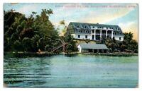 Early 1900s Maple Heights Inn, Lake Minnetonka, MN Postcard