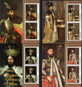 ROMANIA 2019 King Paintings, MNH