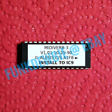 Alesis Midiverb 3 OS 1.01 EPROM Firmware Upgrade KIT / Brand New ROM Update Chip