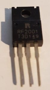 RF2001T3D TO-220 MOSFET TRANSISTOR - BRAND NEW