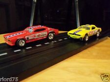 SNAKE vs MONGOOSE FUNNY CARS NHRA CHAMPIONSHIP DRAG RACING  HO Slot Car 4 Gear