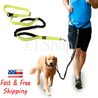 Dog Leash Hands-Free Heavy Duty for running/Jogging Retractable Reflective