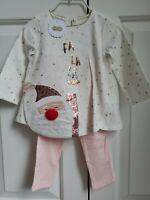 Mud Pie Baby PINK RUFFLE DISCO SET WITH FLOWER 192119-12 Baby Buds Collection