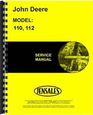 John Deere 110 Lawn & Garden Sn# 0-100,000 Tractor Service Manual (Jd-S-Sm2059)