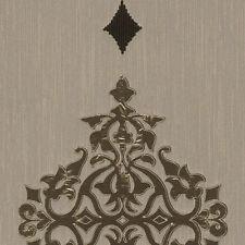 Glänzende gemusterte Tapeten für Damast