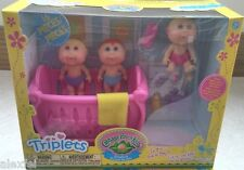 NEW Cabbage Patch Kids BABYLAND TRIPLETS PLAYSET JAKKS PACIFIC RARE!