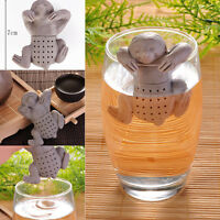 Cute Sloth Silicone Tea Infuser Loose Leaf Strainer Herbal Filter Diffuser Spice