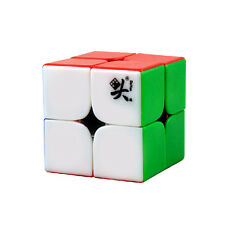 New Dayan Zhanchi 2x2x2 Magic Cube 46MM 2x2 Puzzle Spring Speed Rare Stickerless