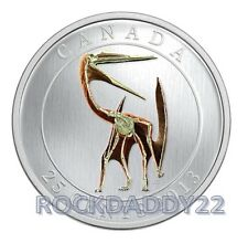 2013 GLOW IN THE DARK Dinosaur Quetzalcoatlus Lakustai 25 CENT COIN PRESALE