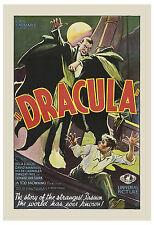 Universal Horror: * Dracula * Bela Lugosi Original Movie Poster 1931