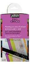 PEBEO P.BO DECO MATT 12 x 20ML ACRYLIC PAINTS SET MATTE DECORATE HOBBY CRAFT ART