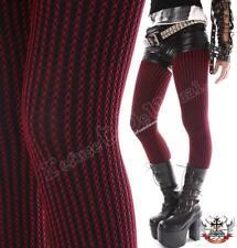 8655de518310ac Punk Tights Pantyhose Corduroy Fishnet Pinstripe Black
