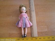 """8"""" Betsty Mc Call doll VINTAGE in pink dress with shoes jointed HTF"""