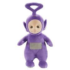 "Teletubbie Teletubbies Tinky Winky Purple Talking Plush Soft Stuffed Doll 10"""