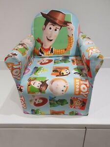Children's Toy Story Woody Character Good Quality Kids Arm Chair Seat Brand New