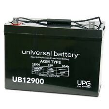 12V 90AH Replacement Battery for Toy Car Play Mobile Scooter Rechargeable SLA