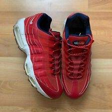 Nike Air Max 95 Independence Day USA Size Men 10.5 Red 538416-614 Sneakers Nice!