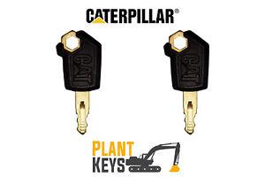 Caterpillar 5p8500 (Set of 2) Excavator Keys Grader Dozer Roller Skidsteer