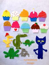 Pete the Cat and the Missing Cupcakes Felt Board Story/Flannel Board/Felt story