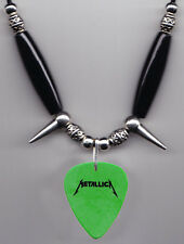 Metallica Scary Guy Green Guitar Pick Necklace