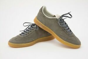 NWOB Brunello Cucinelli Mens Leather Suede Logo Detailed Sneakers 42/ 8.5US A211