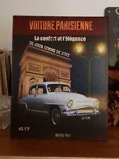 Plaque «voiture parisienne» 28*22 cm