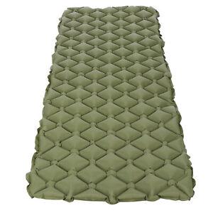 Inflating Sleeping Pad Foam Camping Mat Air Mattress with Bag Comfortable