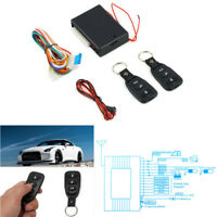 Auto Car Remote Control Keyless Entry System Central Door Locking Kit Universal