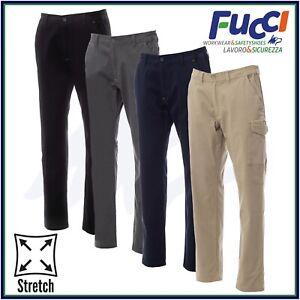 Pantaloni da Lavoro Elasticizzati Payper Multitasche Power Stretch Uomo Donna