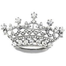 Queen Princess Tiara Crown Brooch Pin Fashion Jewelry for Women Ladies p802