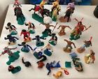 Timpo Toys Vintage Toy Soldiers Cowboys Indians