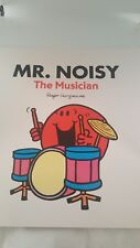 Large Size Mister Men Book MR NOISY The Musician