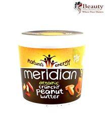 Meridian Organic Burro D'arachidi croccante senza aggiunta di sale 1 KG