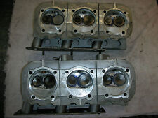 Corvair Heads # 3878570=65-66 Non Smog, ANGLE EXHAUST, fully rebuilt. Hi-Po