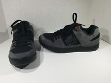 FIVE TEN Mens Freerider Black Gray Suede Fashion Sneakers Shoes Sz 12 R1-150