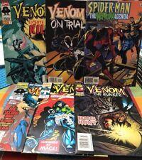 Venom 6 Comics The Mace 2 Hunger 3 On Trial 1 Finale 2 License To Kill 2 Agenda