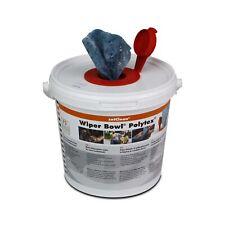 ZVG Wiper Bowl feuchte Reinigungstücher Spendereimer mit 72 Polytex-Tüchern