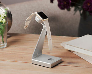 Solid Base Aluminum Desktop Stand For Apple Watch Charger Base Charging Dock
