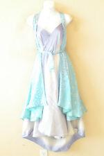"L877 Vintage Silk Magic 34"" Long Wrap Skirt Halter Tube Maxi Dress + Bonus DVD"