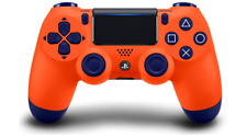 PS4 DualShock 4 Wireless Controller for Sony PlayStation 4 - Sunset Orange