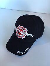 Fire Department Baseball Cap Hat