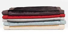 McAlister Textiles Luxury Designer Shiny Crushed Velvet Throws & Table Runners