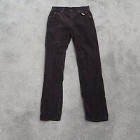 Vintage Lee Riders Corduroy Pants 32x35 Straight Leg Mens Brown