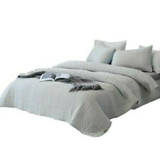 Kasentex Quilted Coverlet Reversible 3-pc Full/Queen Bedding Set Ultra Soft!