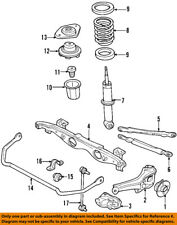 MINI OEM 02-15 Cooper Rear Suspension-Upper Link 33326768724