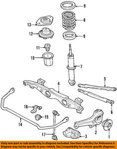 33556754823 Paire Genuine Mini Rear Anti-roll bar//Stabilisateur buissons